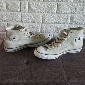 Chuck Taylor Creme Leather